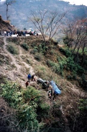 Roadside Wreckage