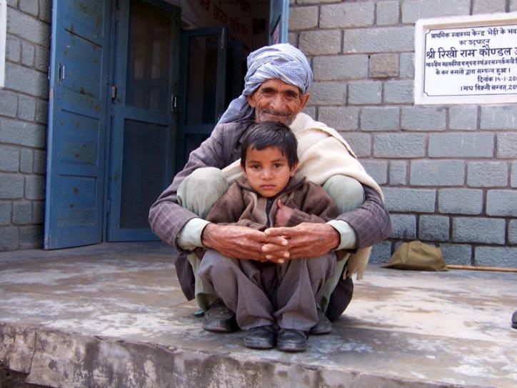 Granddad and Boy