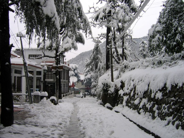 Dharamsala Snowfall