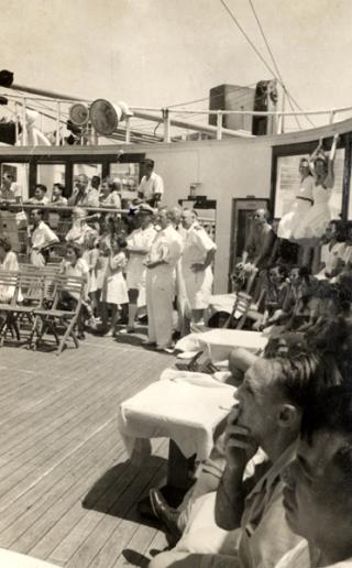 1948 Willem Ruys Batavia Final Departure