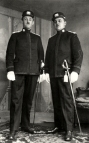 1927 Opa and Heer Peters in uniform