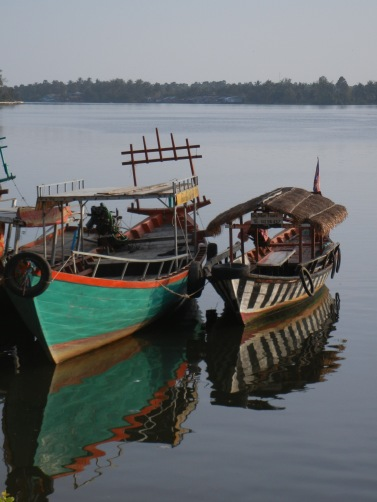Kampot River Boats