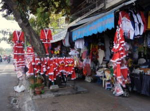 Santa in Phnom Penh