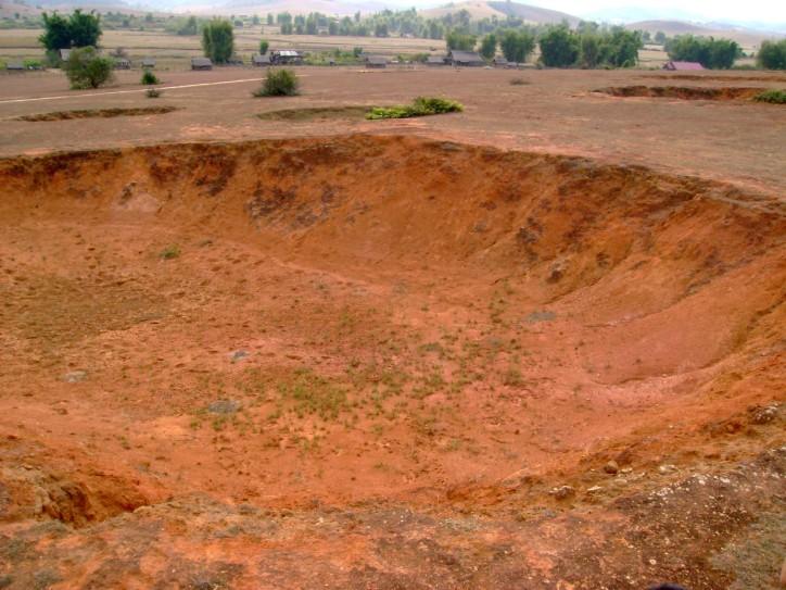 Bomb Craters - Phonsovan