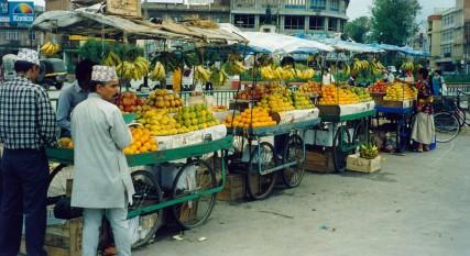 Fruit Market - Kathmandu