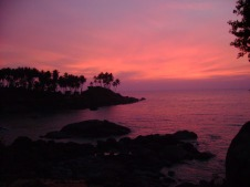 Sunset Palolem