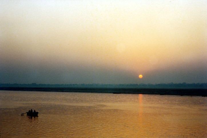 Sunrise over Ganges