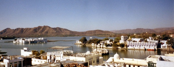 Floating Palace in Udaipur