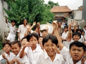 Bandung School Lets Out