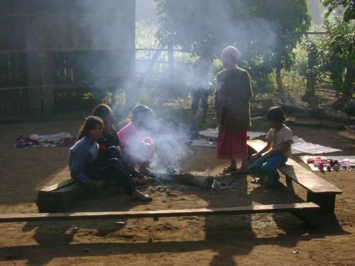 North Thailand Hill Tribe Village