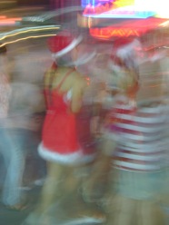Christmas Elves in Bangkok