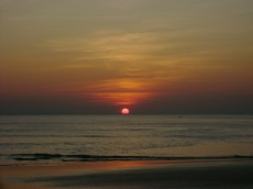 Gulf of Thailand Sunset