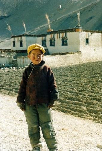 Tibetan Village Boy