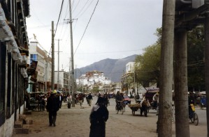 Lhasa Main Avenue