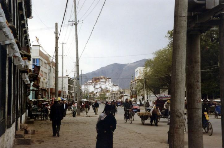 Lhasa Main Avenue