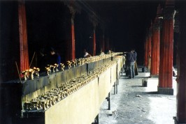 Jokhang Temple butter candles