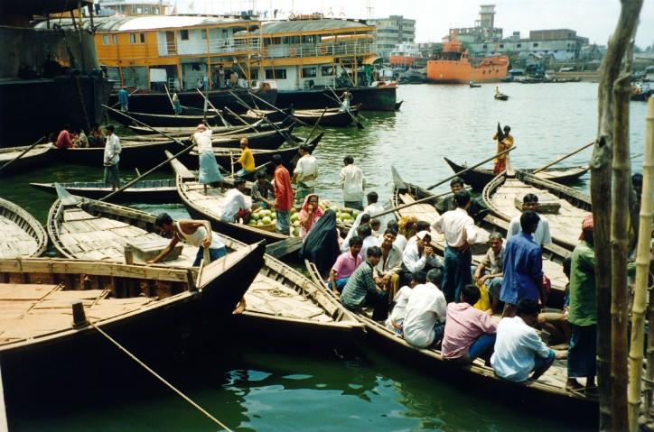 On the Buriganga River - Dhaka