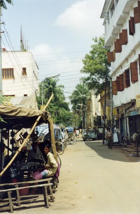 Rare Quiet Dhaka Street