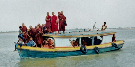 Monk River Boat