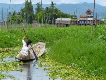 To Market via Inle Lake Waterways