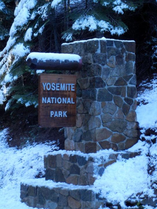 Entrance to Yosemite