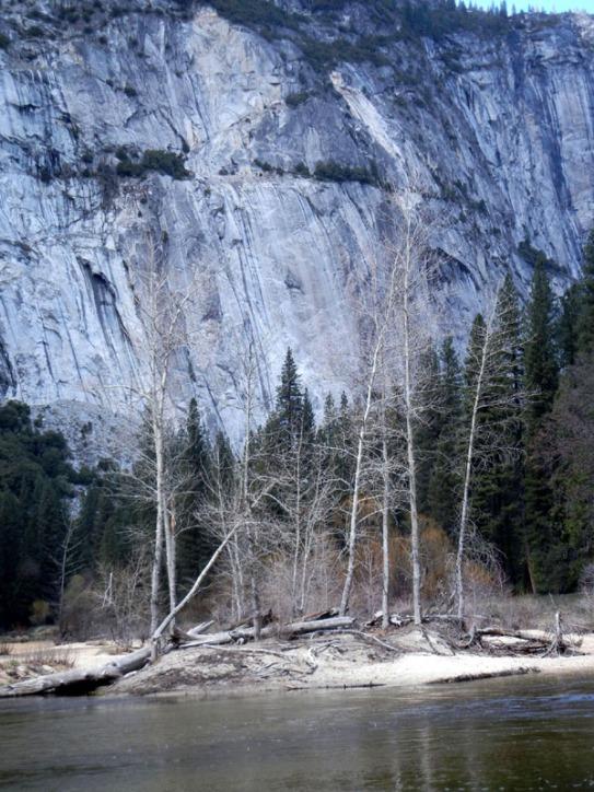 River versus Granite