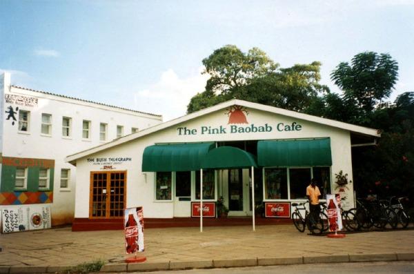 Vic Falls - Pink Baobab Cafe