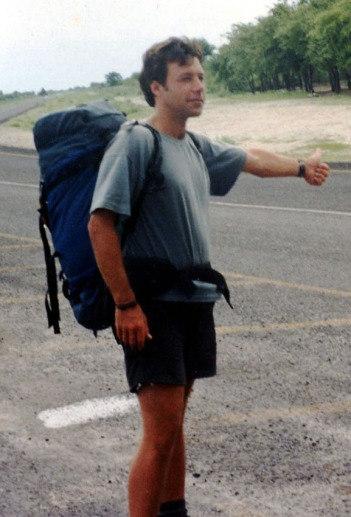 Hitch-hiking from Nata
